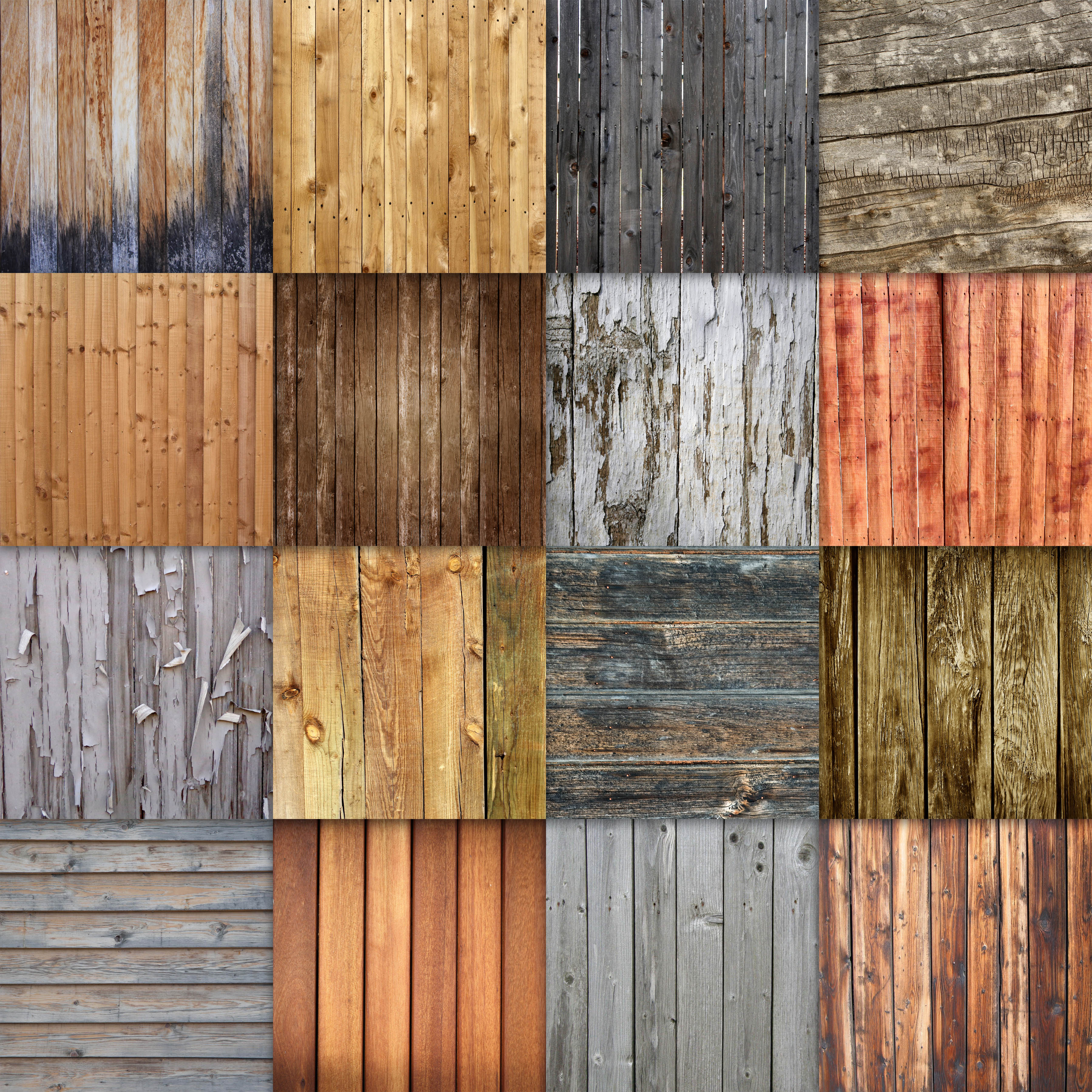 Wood Fence Textures Digital Paper Graphic Backgrounds By oldmarketdesigns - Image 2