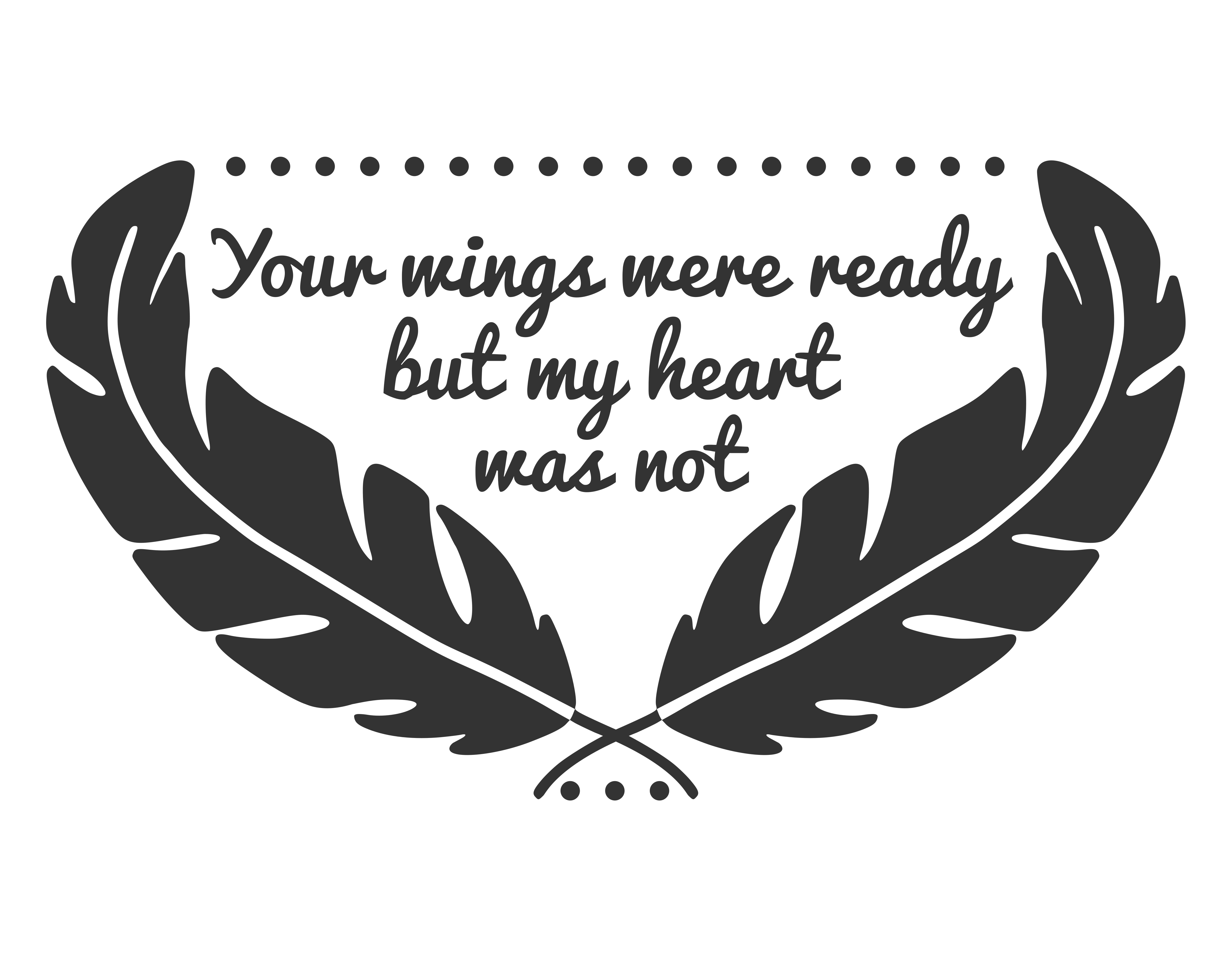 Your Wings Were Ready SVG Graphic By CrystalGiftsStudio Image 2
