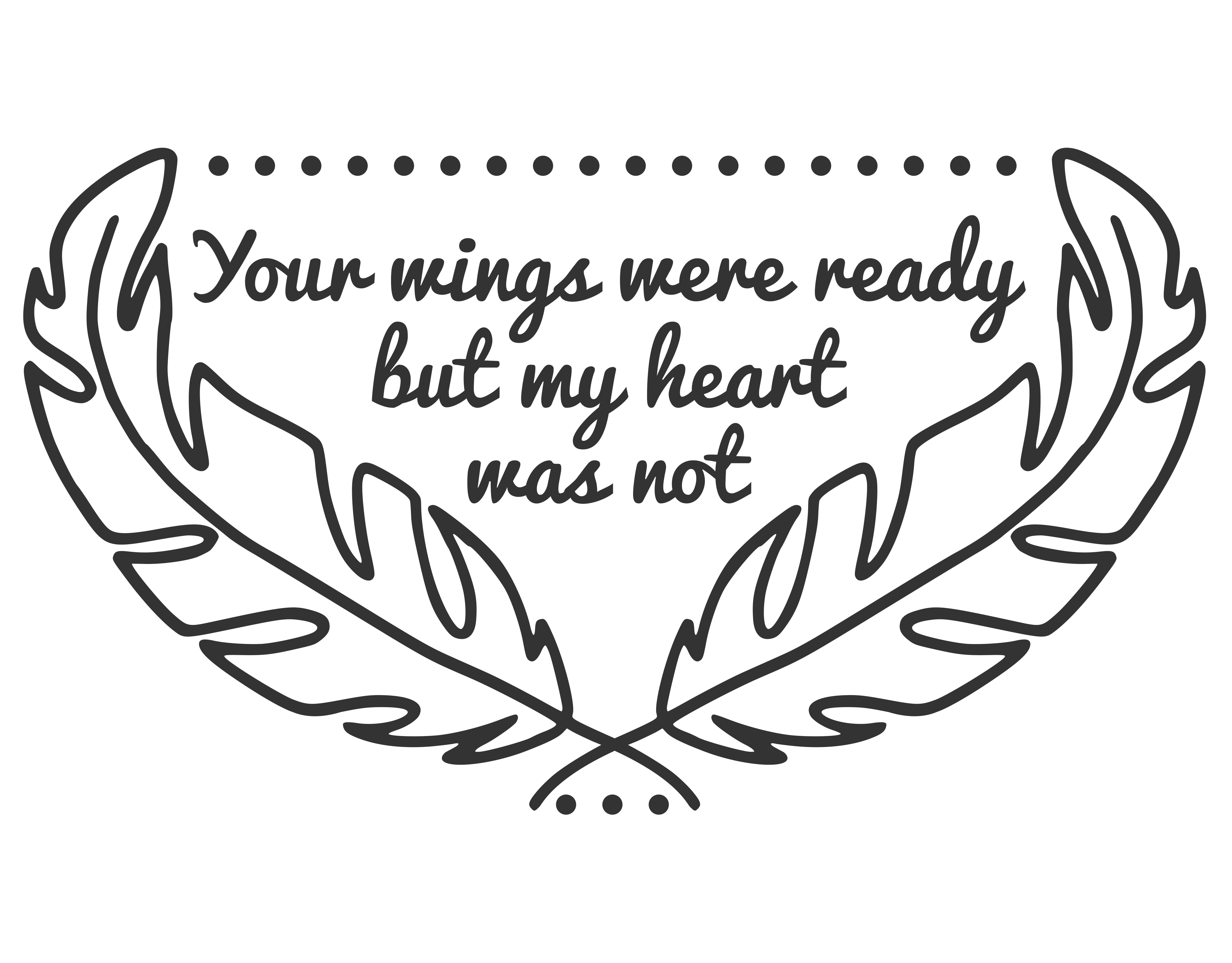 Your Wings Were Ready SVG Graphic By CrystalGiftsStudio Image 4