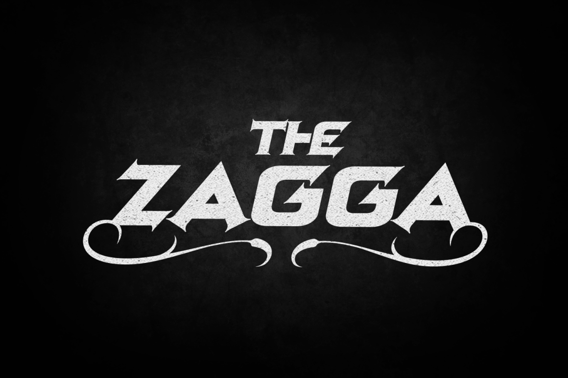 Print on Demand: Zagga Decorative Font By tamaputra