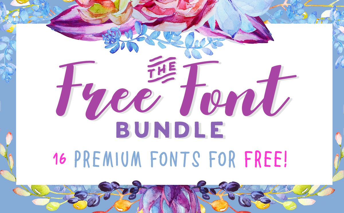 Download The Free Font Bundle (Bundle) · Creative Fabrica