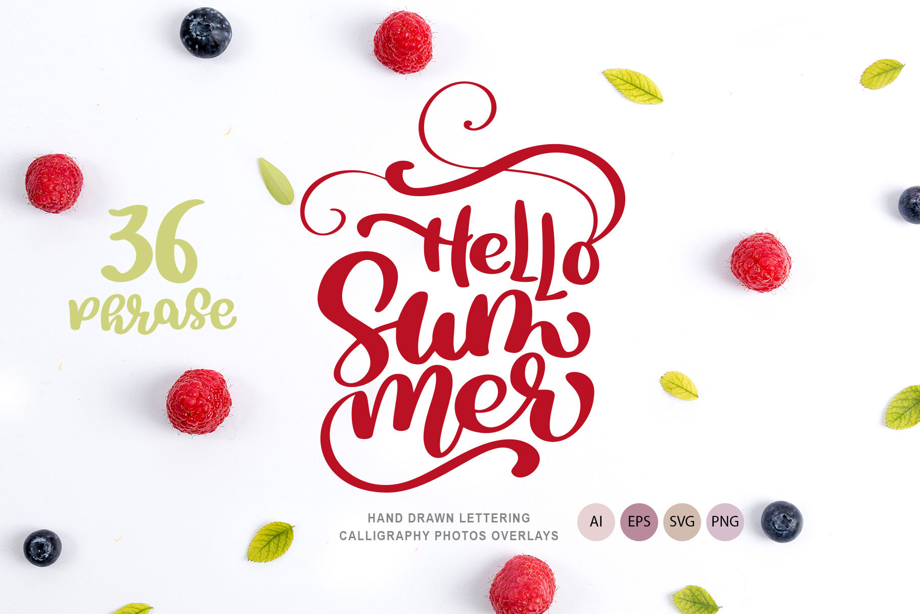 36 Calligraphic Summer Phrases Graphic Illustrations By Happy Letters