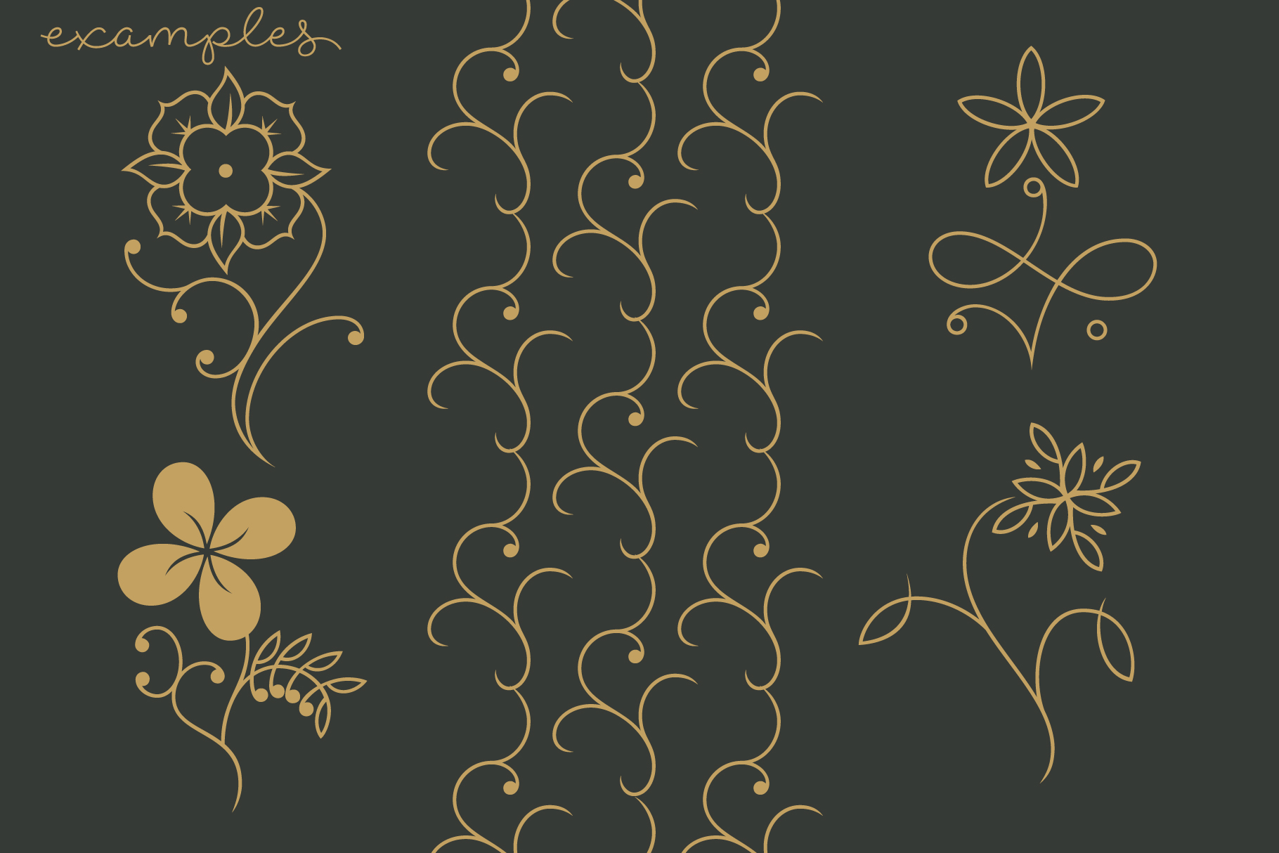 Print on Demand: 7 Flowers and Floral Patterns Graphic Patterns By Roland Hüse Design - Image 2