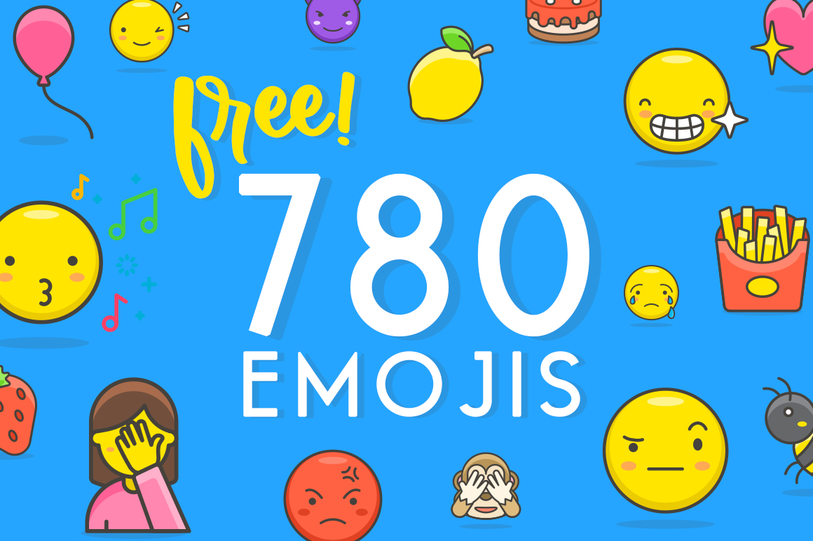 780 Free Emojis Graphic Objects By Creative Fabrica Freebies - Image 1