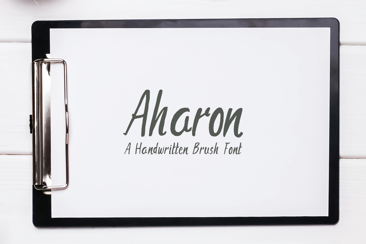 Aharon Font By Creative Tacos