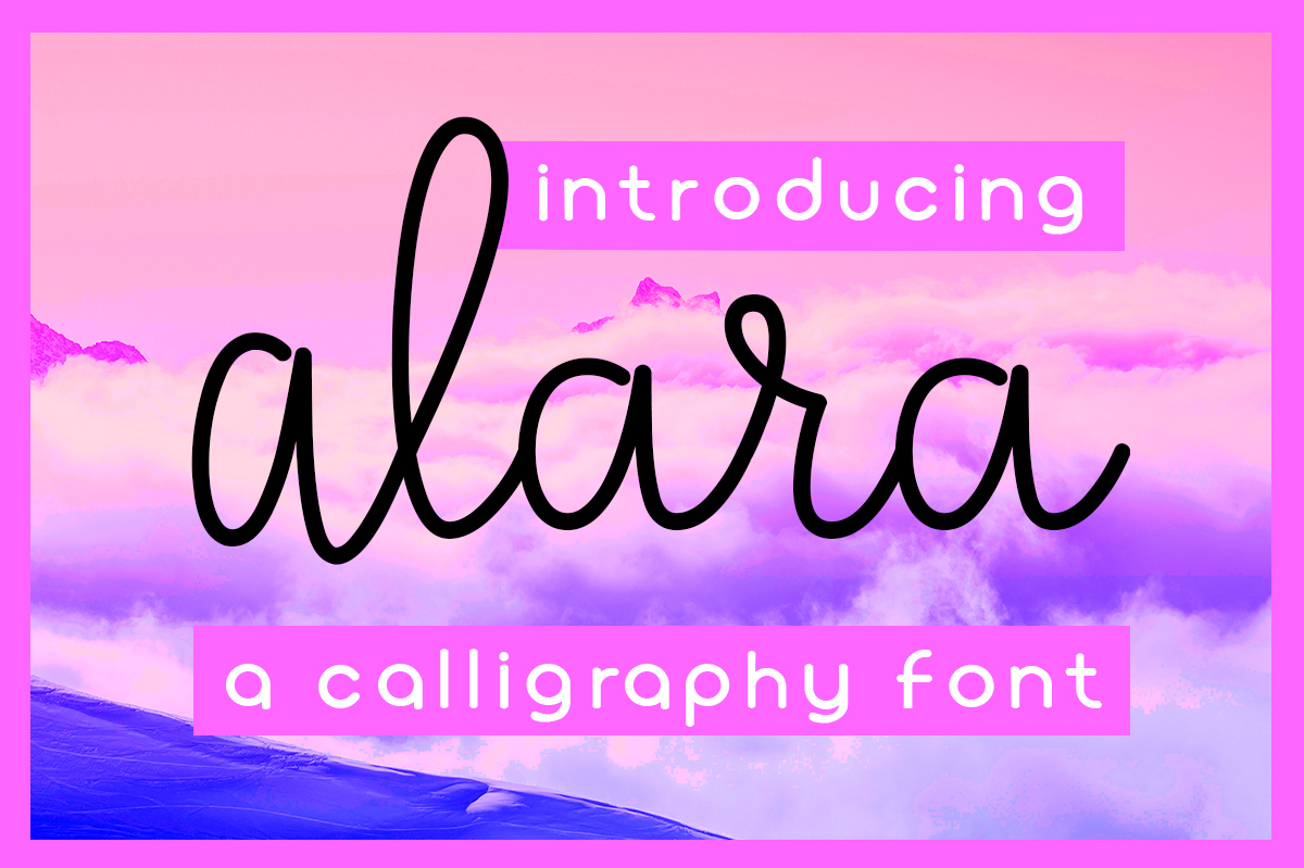 Print on Demand: Alara Script & Handwritten Font By Silhouette America, Inc.