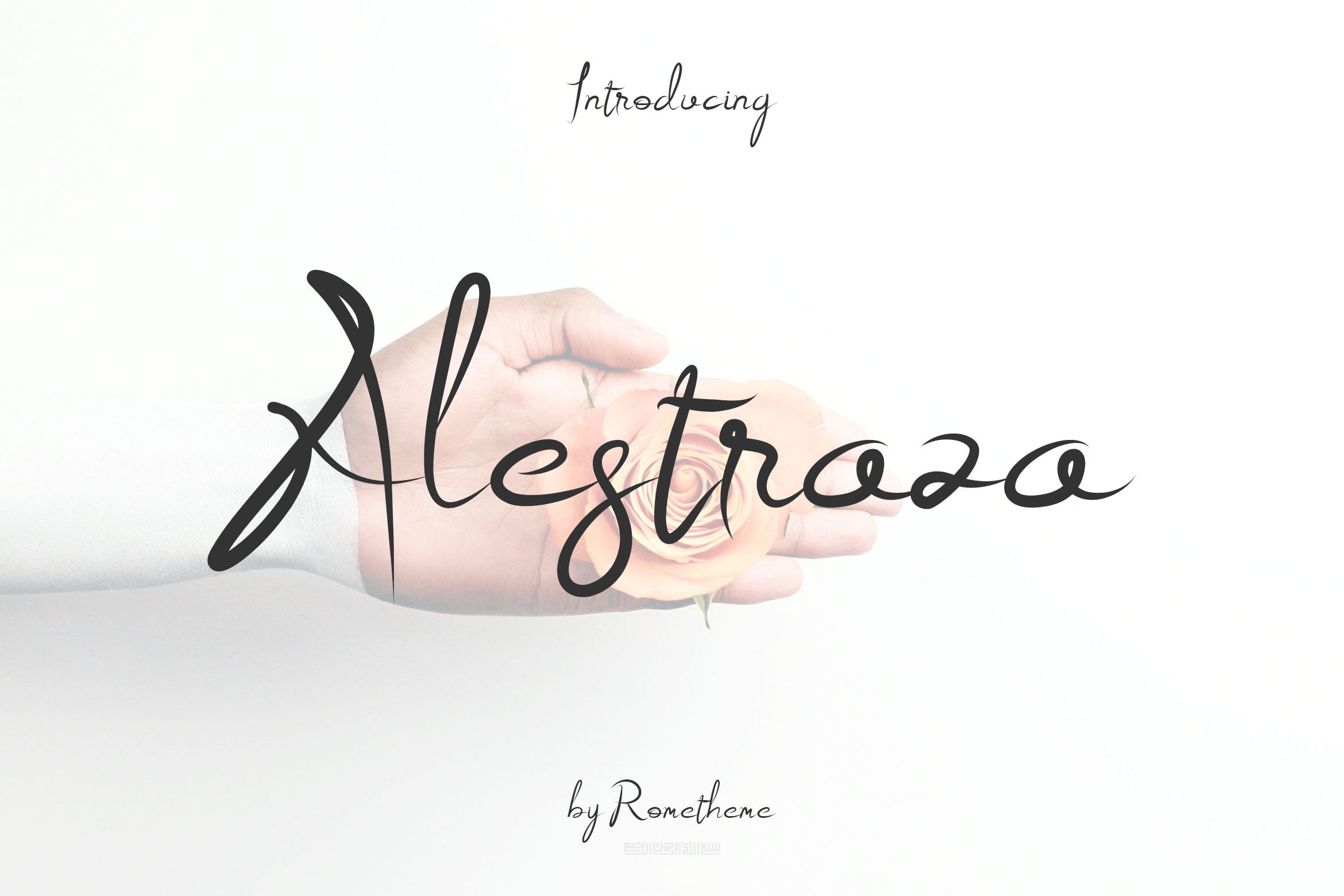 Print on Demand: Alestraza Script & Handwritten Font By rometheme - Image 1