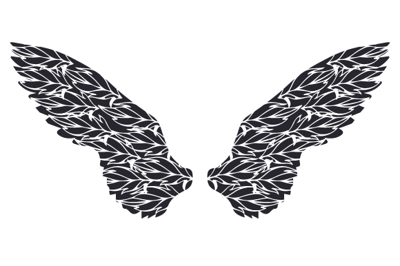 Download Free Angel Wings Svg Cut File By Creative Fabrica Crafts Creative for Cricut Explore, Silhouette and other cutting machines.
