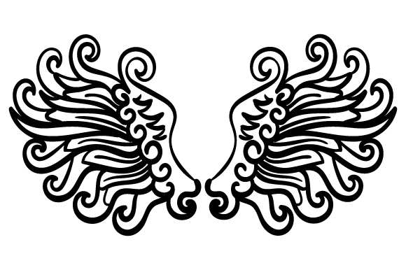 Angel Wings Religious Craft Cut File By Creative Fabrica Crafts