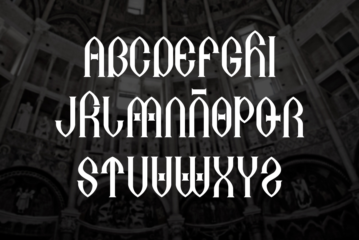 Print on Demand: Antelami Blackletter Font By TypEra - Image 2