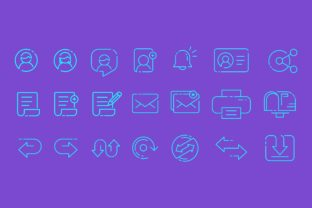 Application and Web  Iconset Graphic By herbanuts