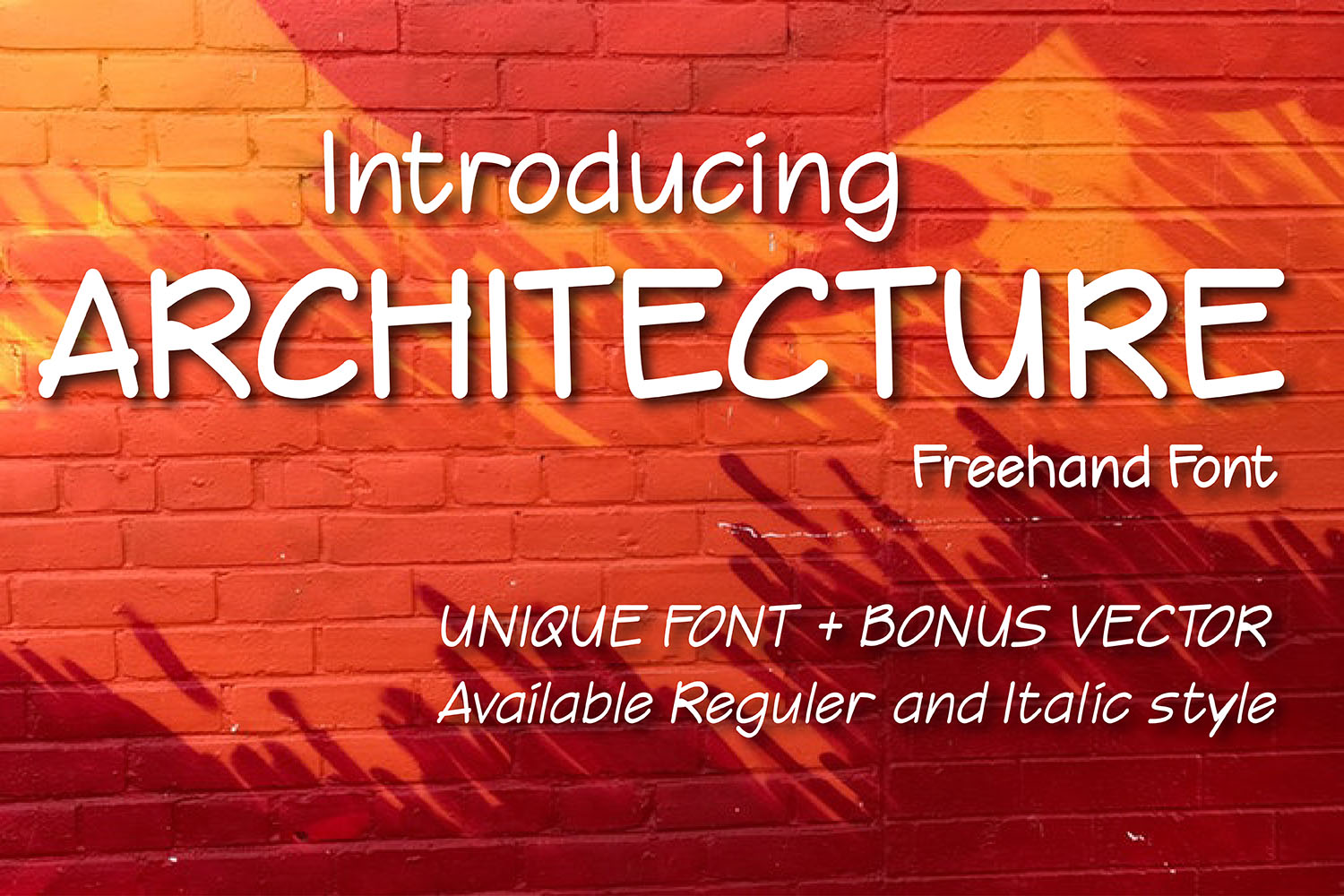 Print on Demand: Architecture Script & Handwritten Font By 38.lineart