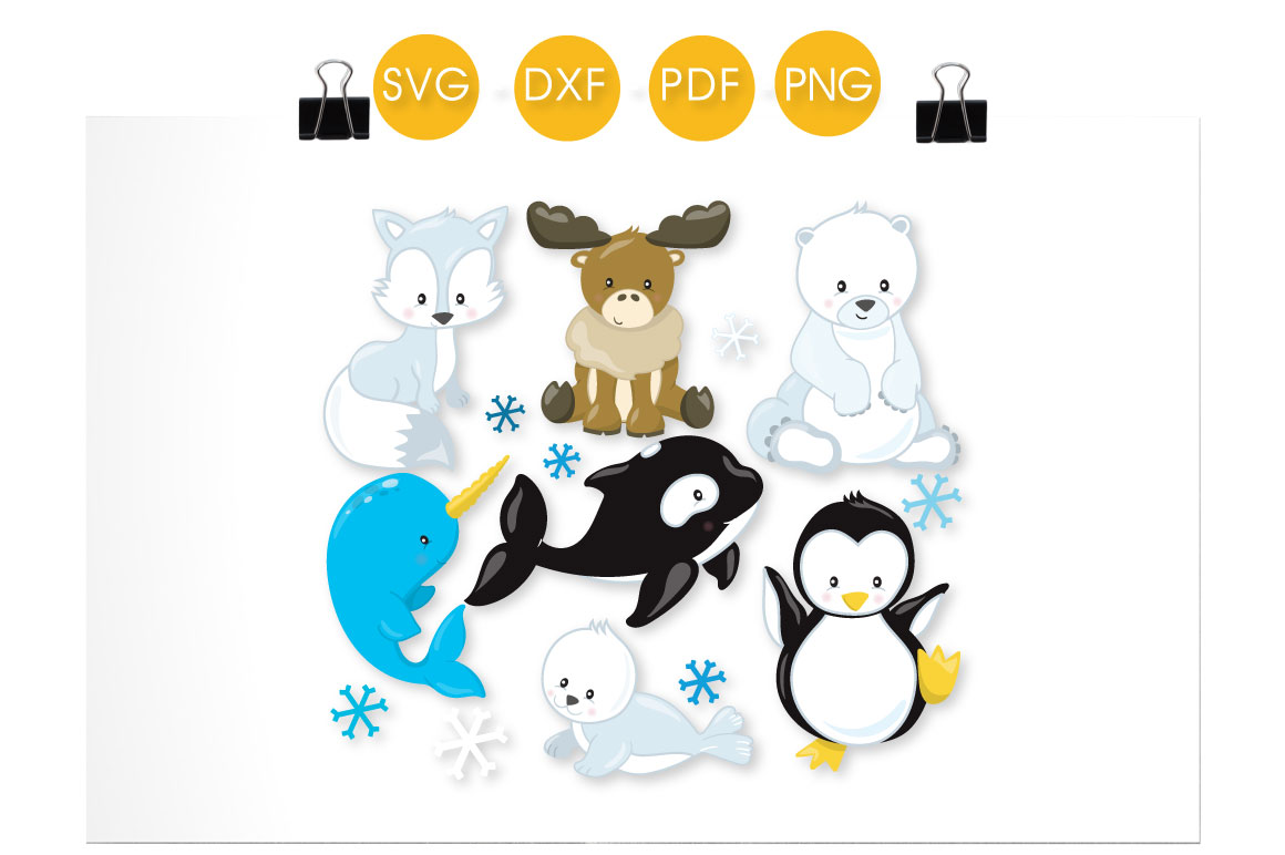 Arctic Animals Graphic Crafts By PrettyCuttables - Image 2