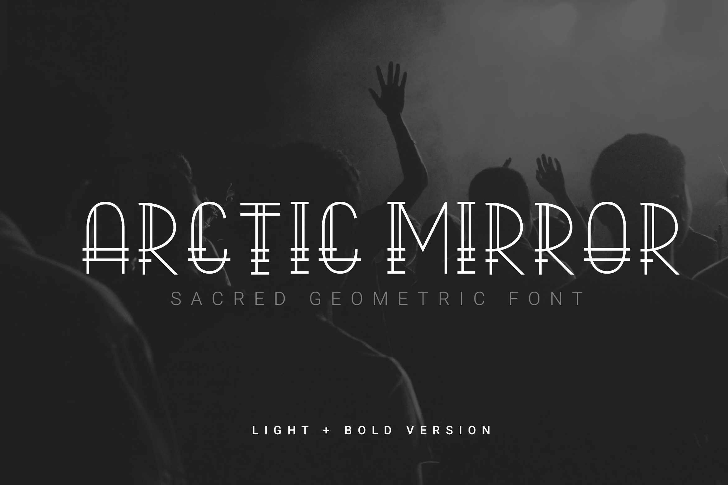 Print on Demand: Arctic Mirror Display Font By rubirubiko