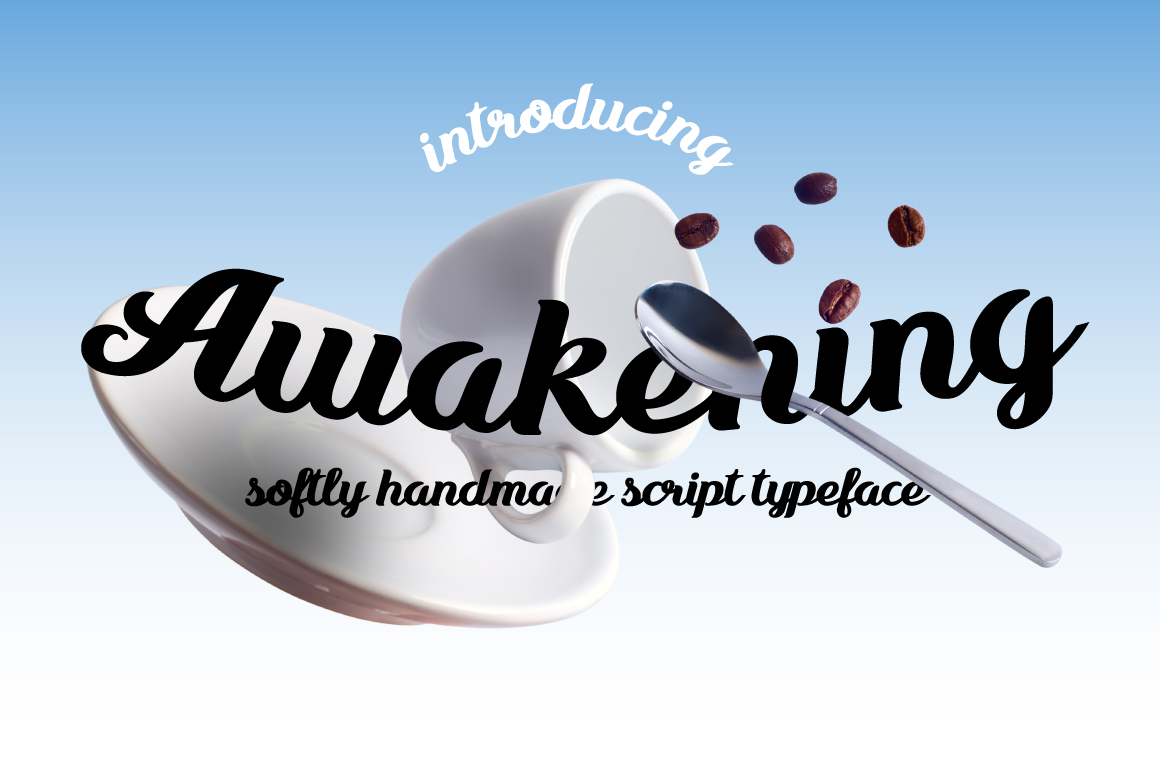 Print on Demand: Awakening Script & Handwritten Font By NREY