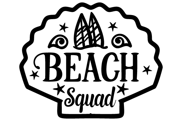 Download Free Beach Squad Svg Cut File By Creative Fabrica Crafts Creative for Cricut Explore, Silhouette and other cutting machines.