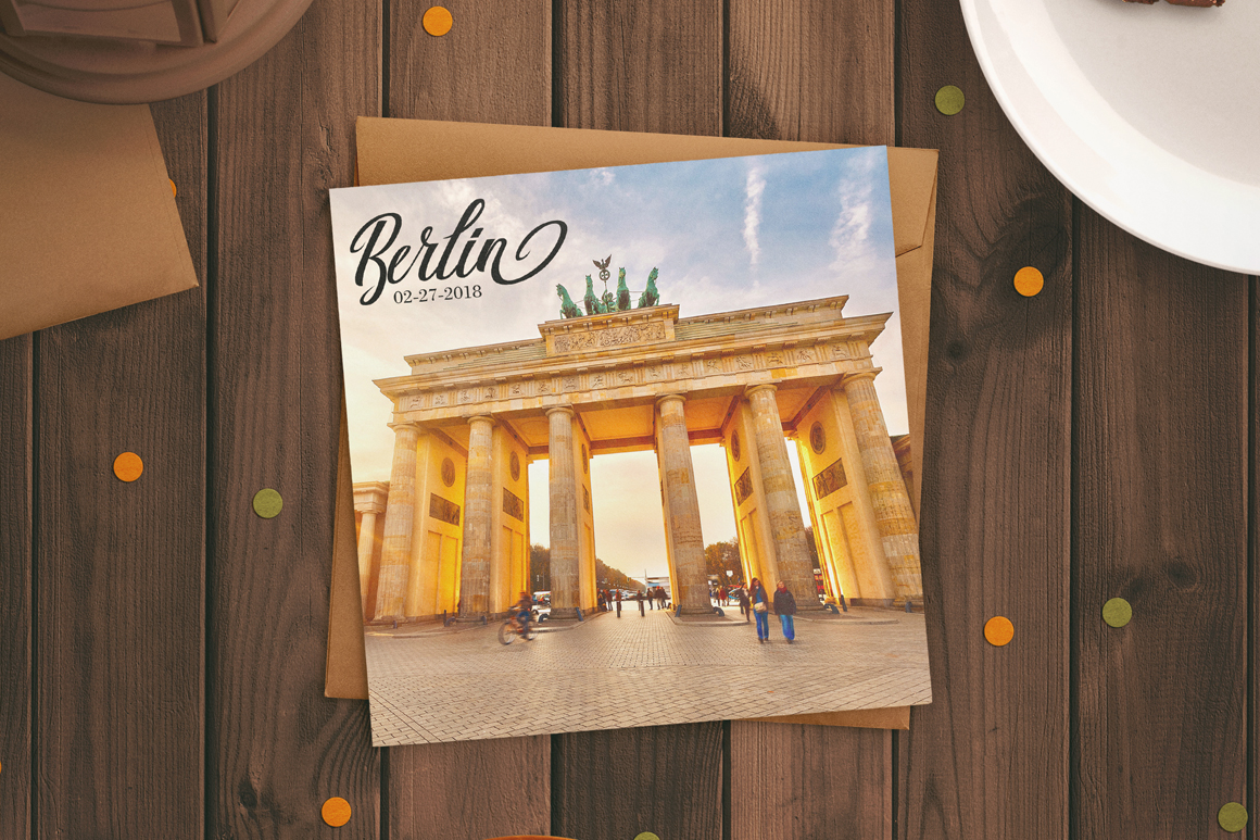 Print on Demand: Berlin Script Script & Handwritten Font By Debut Studio - Image 2