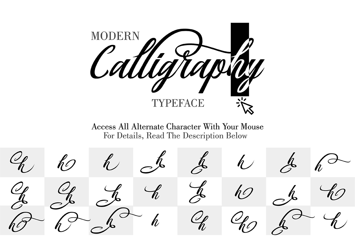 Print on Demand: Berlin Script Script & Handwritten Font By Debut Studio - Image 8