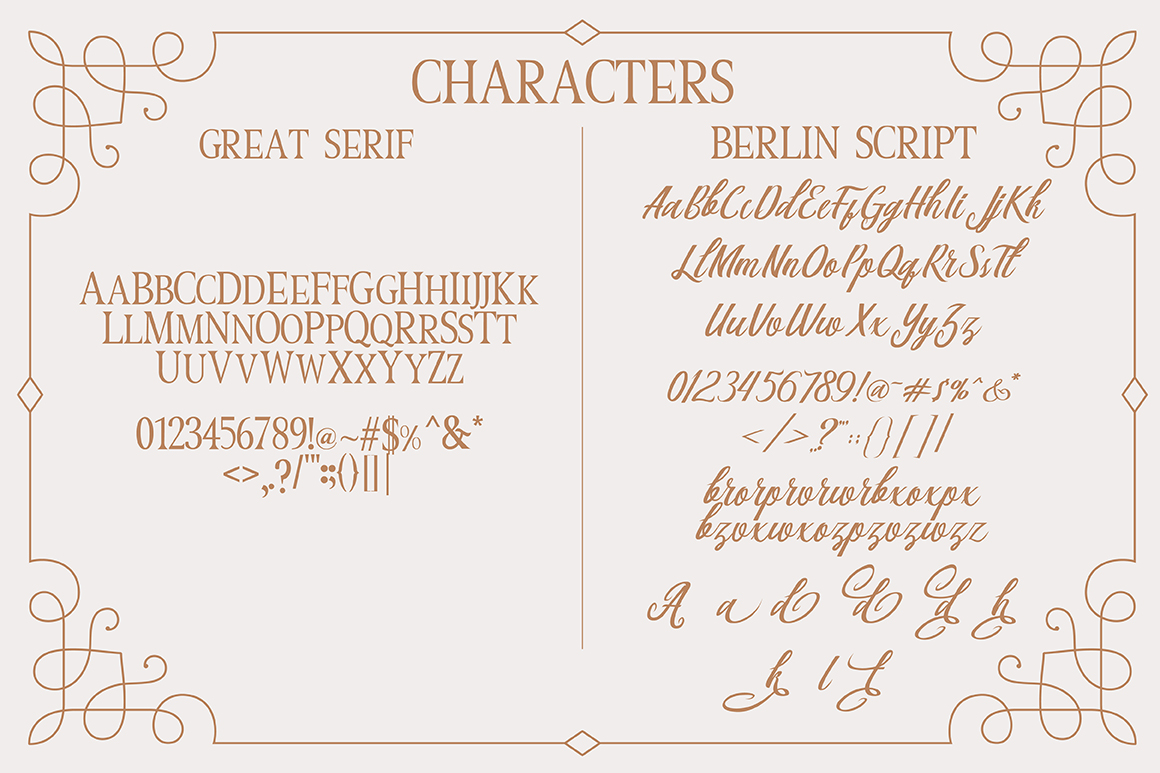Print on Demand: Berlin Script Script & Handwritten Font By Debut Studio - Image 9