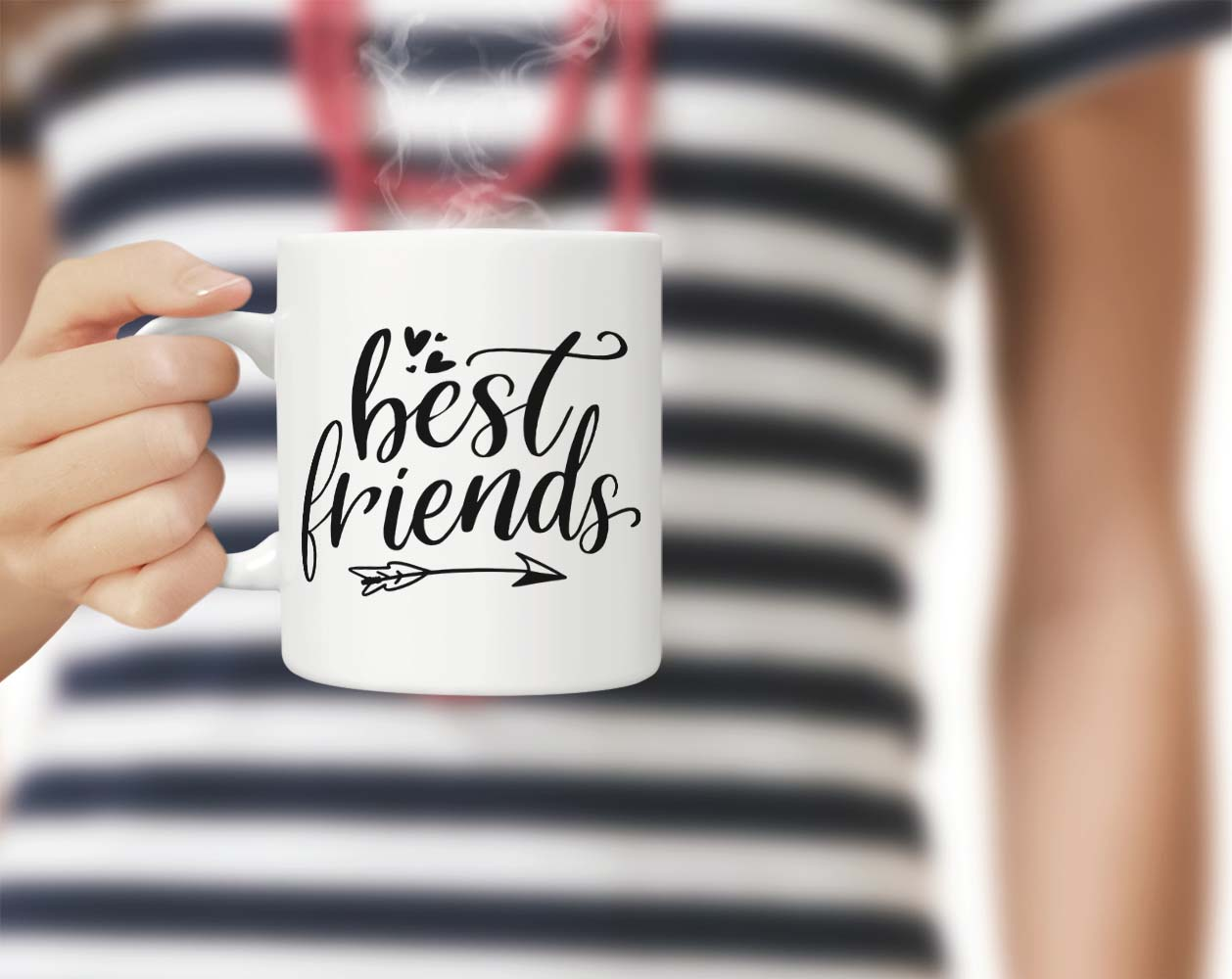 Download Free Best Friends Graphic By Theblackcatprints Creative Fabrica for Cricut Explore, Silhouette and other cutting machines.