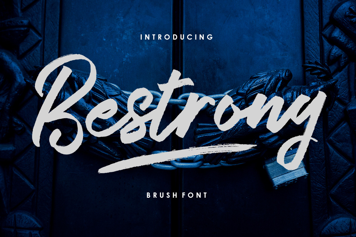 Bestrong Font By Great Studio