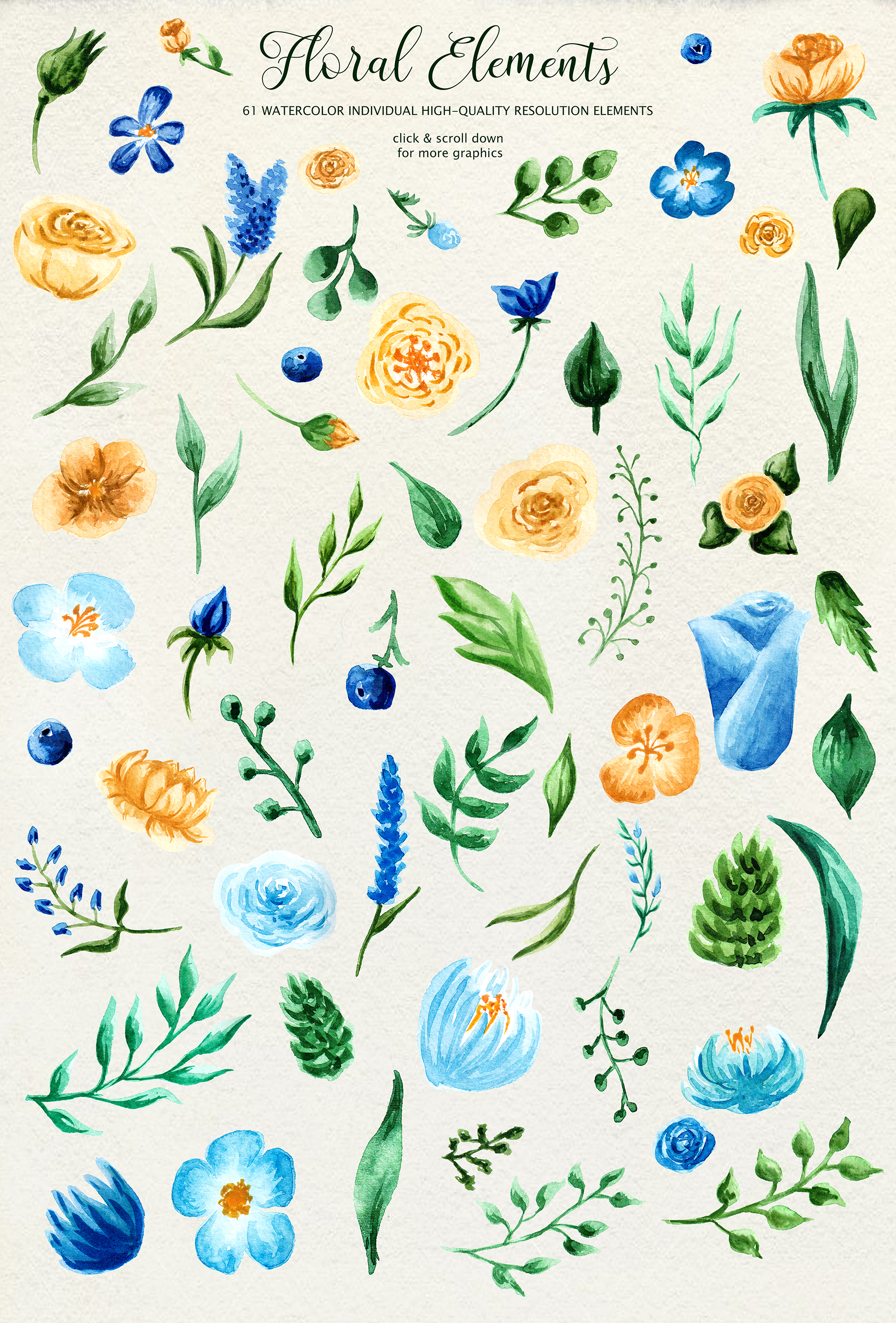 Birth of Watercolor Flower Set Graphic Illustrations By tregubova.jul - Image 2