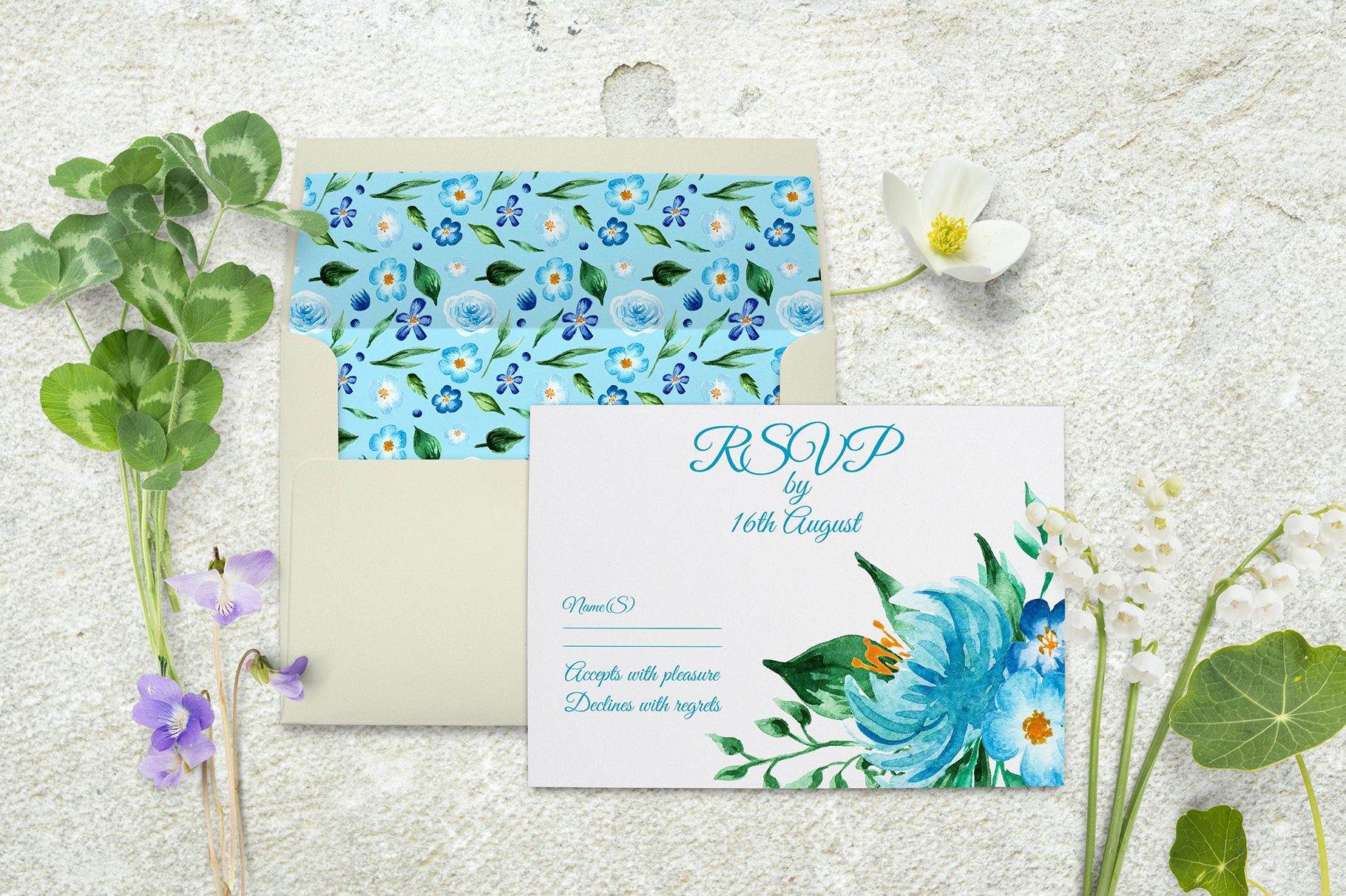 Birth of Watercolor Flower Set Graphic By tregubova.jul Image 8