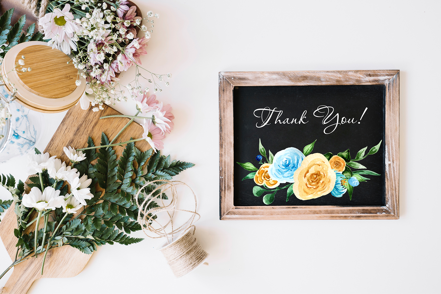 Birth of Watercolor Flower Set Graphic By tregubova.jul Image 9