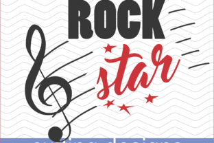 Download Free Birthday Rock Stars Svg Party Files Graphic By Vector City for Cricut Explore, Silhouette and other cutting machines.