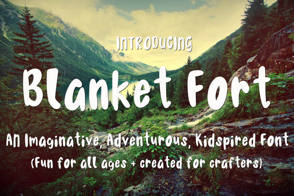 Print on Demand: Blanket Fort Script & Handwritten Font By Scout and Rose Design Co