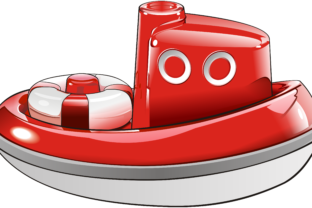 Boat - Toy Graphic By fray06100