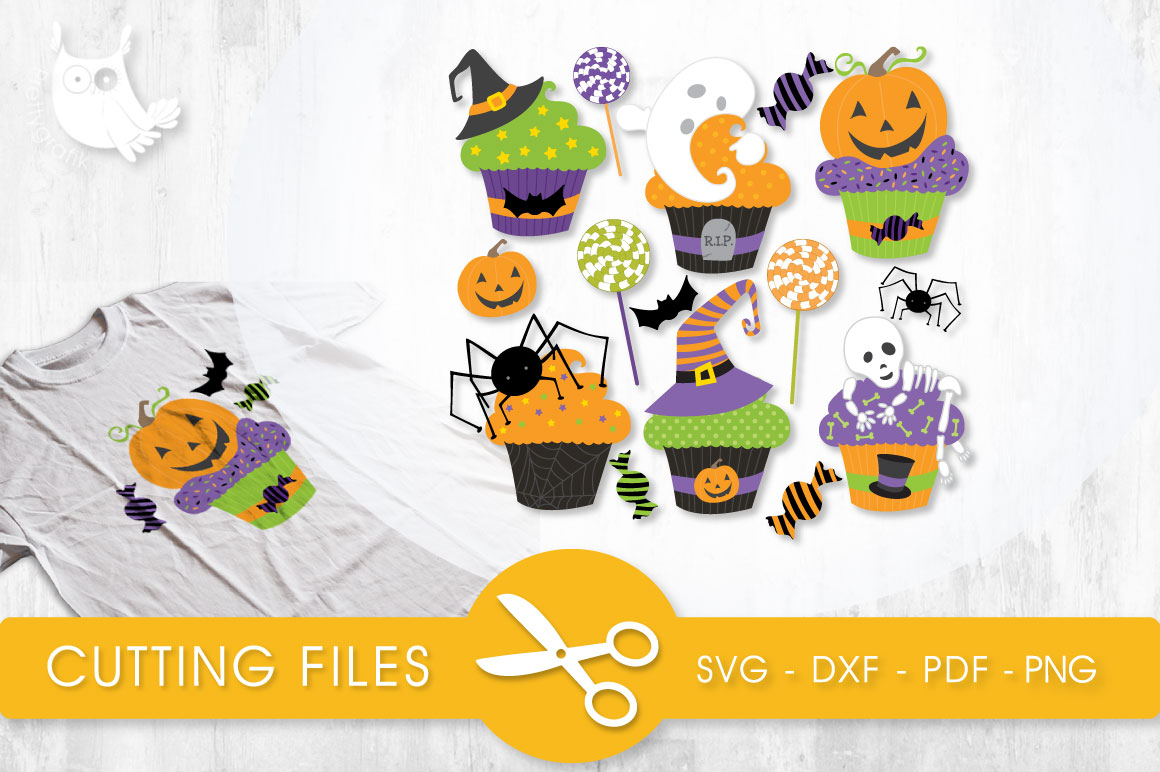 Boo Cakes Graphic Crafts By PrettyCuttables