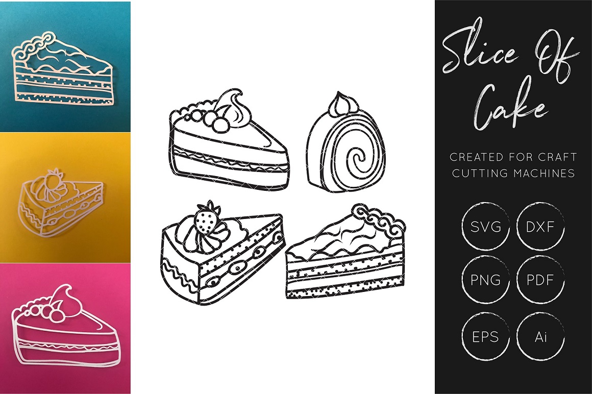 Download Free Cake Tea Sweets And Treats Bundle Graphic By Illuztrate for Cricut Explore, Silhouette and other cutting machines.