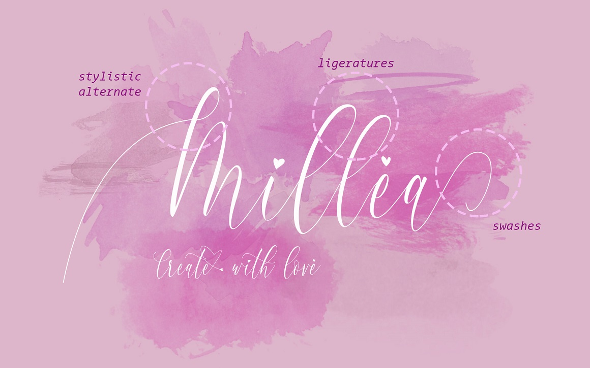 Print on Demand: Charlotte Calligraphy Script & Handwritten Font By aldedesign - Image 4