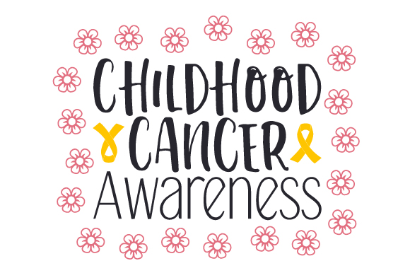 Download Free Childhood Cancer Awareness Svg Cut File By Creative Fabrica for Cricut Explore, Silhouette and other cutting machines.