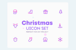 Christmas Icons Set Graphic Icons By Newflix