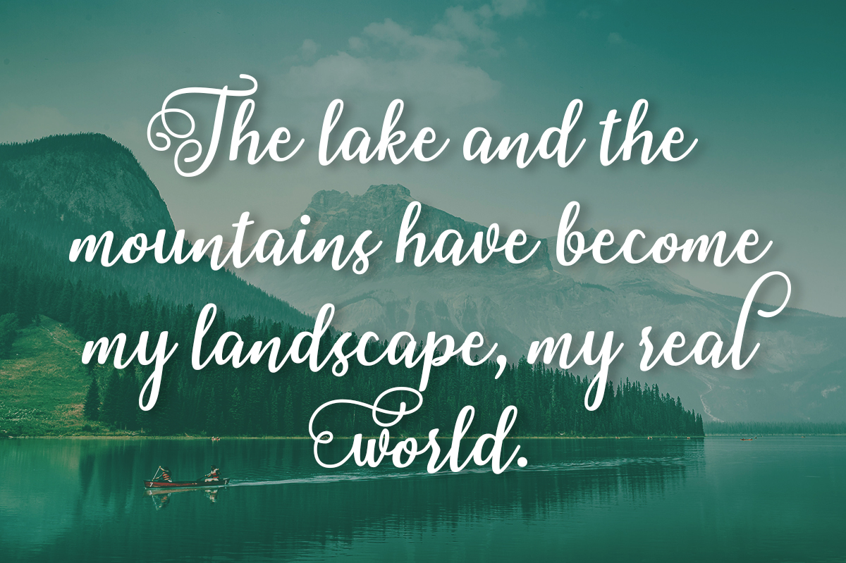 Print on Demand: Clearwater Lake Script & Handwritten Font By Silhouette America, Inc. - Image 2