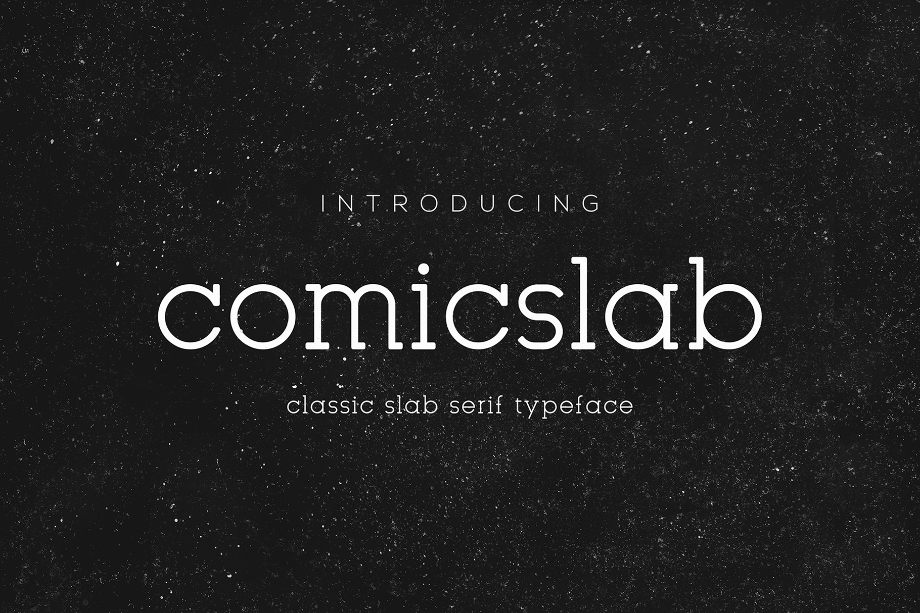 Comic Slab Font By Monogram Image 1