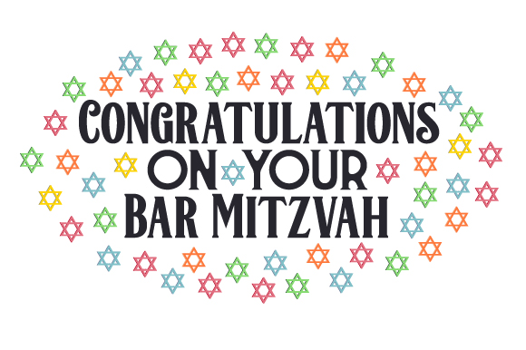 Download Free Congratulations On Your Bar Mitzvah Svg Cut File By Creative SVG Cut Files