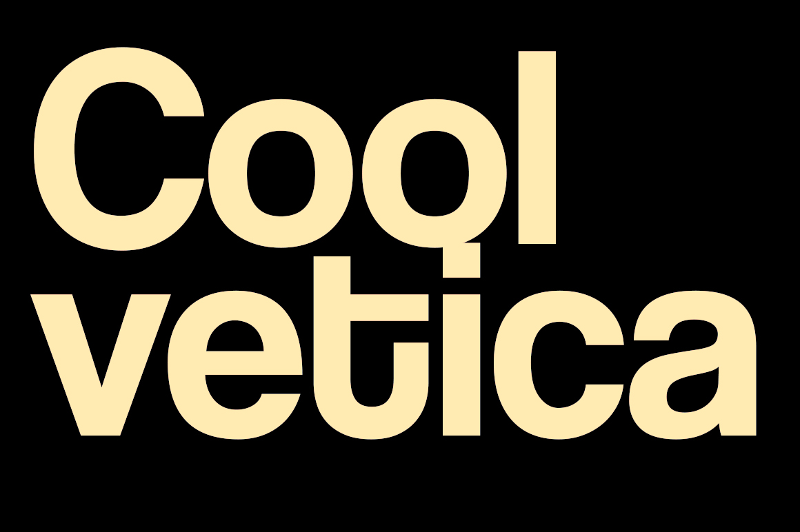 Print on Demand: Coolvetica Sans Serif Font By Typodermic