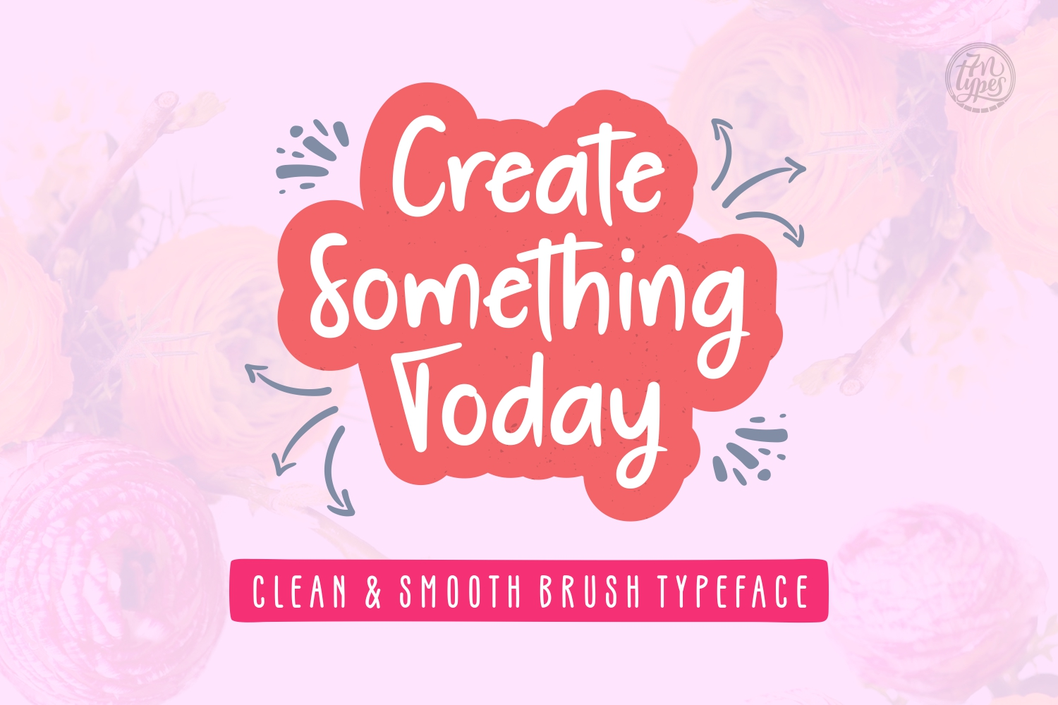 Print on Demand: Create Something Today Script & Handwritten Font By Situjuh - Image 1