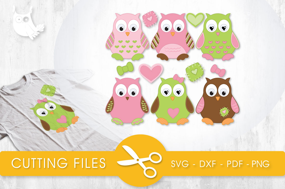 Cute Baby Owls Graphic