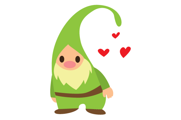 Download Free Cute Gnome Svg Cut File By Creative Fabrica Crafts Creative for Cricut Explore, Silhouette and other cutting machines.