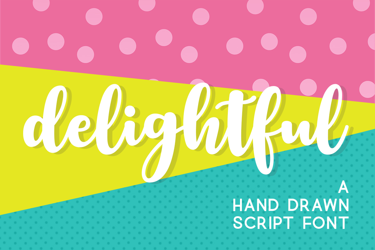 Print on Demand: Delightful Script & Handwritten Font By Silhouette America, Inc.