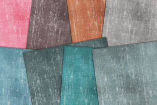 Print on Demand: Distressed Canvas Graphic Backgrounds By retrowalldecor 2