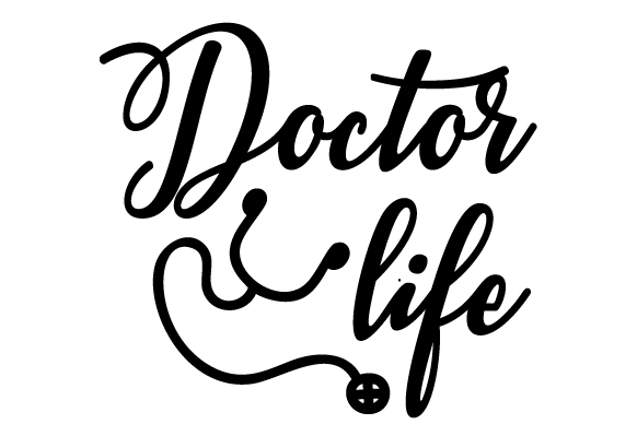 Download Free Doctor Life Svg Cut File By Creative Fabrica Crafts Creative for Cricut Explore, Silhouette and other cutting machines.