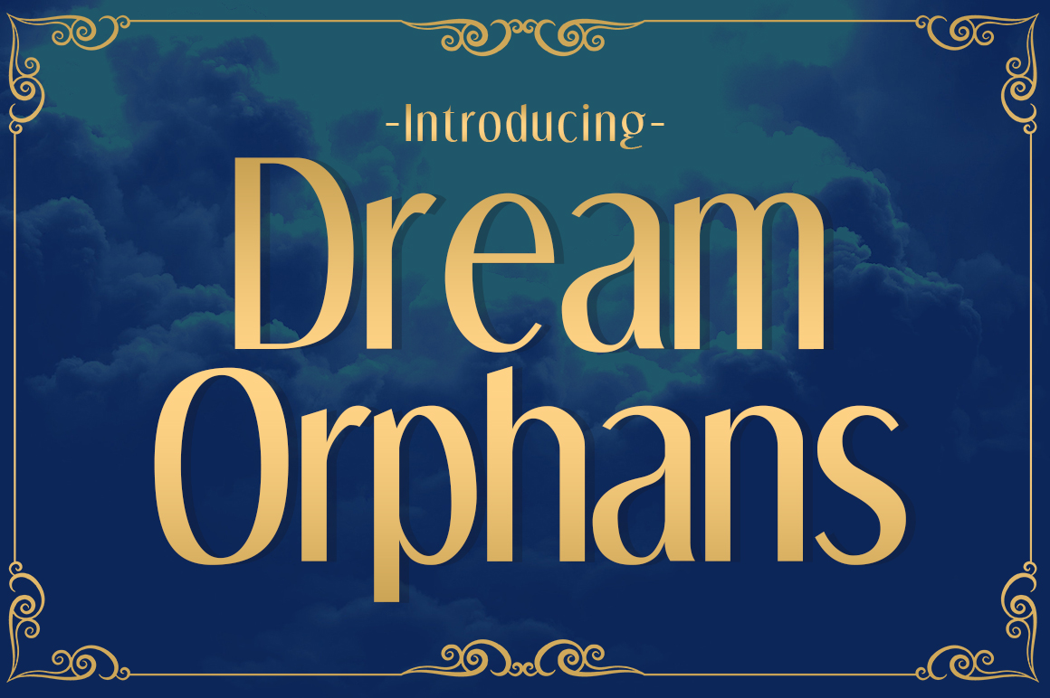 Dream Orphans Font By Typodermic Image 1