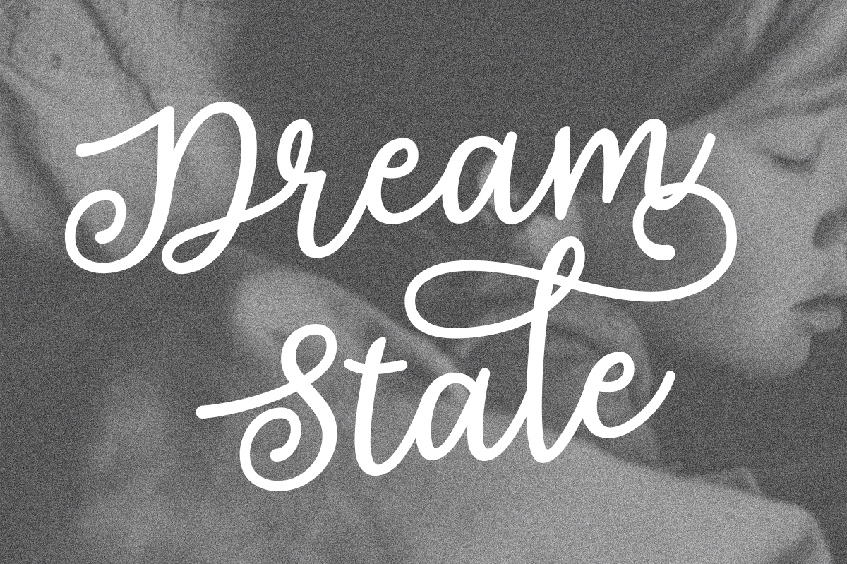 Print on Demand: Dream State Script & Handwritten Font By Silhouette America, Inc.