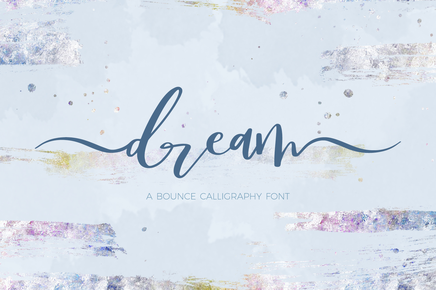 Dream Font By BeckMcCormick