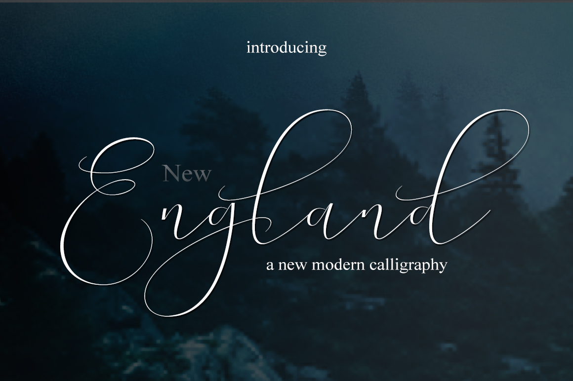 England Font By Mrletters Image 2